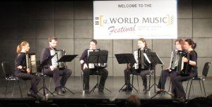 Ensemble beim 12. World Music Festival in Innsbruck